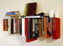 Invisible Bookshelf Diy Almost Invisible Book Shelves Minimalist Book Shelf