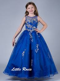 little rosie sheer bateau pageant dress lr2045 pageantdesigns com