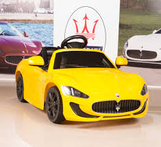 maserati yellow 12v electric kids ride on car maserati grancabrio with rc remote
