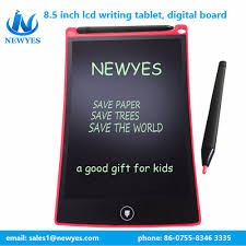 e paper writing tablet list manufacturers of e writing pad buy e writing pad get newyes 8 5 educational tablet for kids paper lcd e ink writing pad