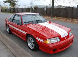 1992 ford mustang this 1992 ford mustang gt is described as one of 65 saac mkii s