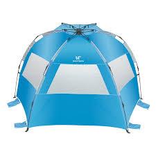 Alps Mountaineering Tri Awning Beach Tent Compact Outdoor Portable Beach Sun Shade Summer