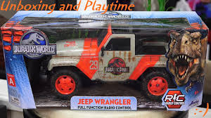 kids gas jeep rc cars trucks and tanks jurassic world u0027s jeep wrangler jurassic