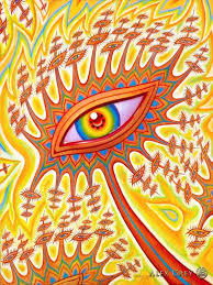 poster trippy alex grey wall poster print home decor wall poster