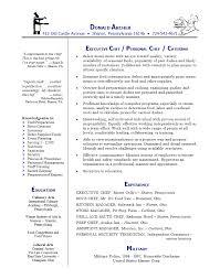 chef resume templates chef resume sles resume templates