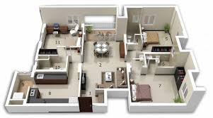 bungalow plans beautiful 3 bedroom bungalow plans for hall kitchen bedroom
