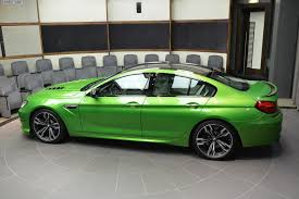 dark green bmw bmw m6 gran coupe in java green