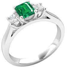 emerald rings uk emerald diamond gemstone rings purely diamonds