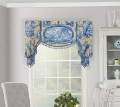 Board Mounted Valance Ideas Board Mounted Flat Swag Valance With Handkerchief Jabots Valances