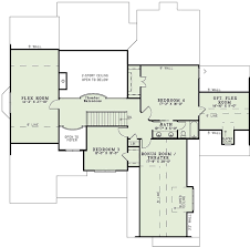 craftsman style house plan 4 beds 3 00 baths 3783 sq ft plan 17