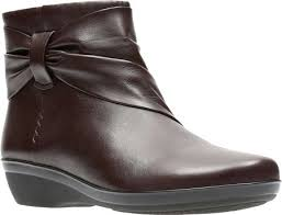 Grey Wedge Ankle Boots Womens Clarks Everlay Mandy Ankle Boot Free Shipping U0026 Exchanges
