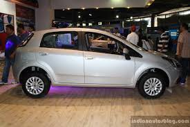 fiat punto 2014 fiat punto evo side at the 2014 nepal auto show indian autos blog