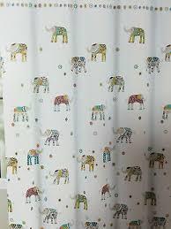 Cynthia Rowley Bathroom Cynthia Rowley Shower Curtain Happy Decorated Elephant Kids