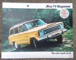 jeep wagon for sale the carchive the u002776 jeep wagoneer hooniverse