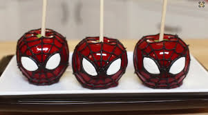 Candy Apple Supplies Wholesale How To Make Spiderman Candy Apples Cooking Handimania