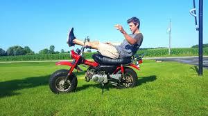 suzuki rv 90 first ride youtube