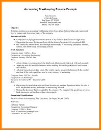 Bookkeeper Duties And Responsibilities Resume Bookkeeper Resume Sample Cover Letter Free Accounting Bookkeeping