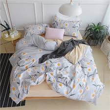 comfortable bedding sunflower bedding set long stapled cotton beautiful and