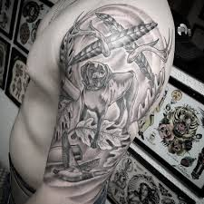 75 best hunting tattoo designs and ideas hobby commitment 2017