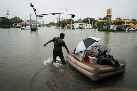the stunning images from record setting flooding in houston texas