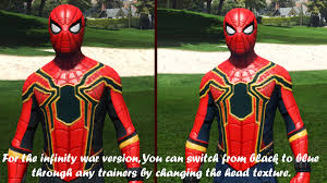 spiderman mods coming pack infinity war home coming u0026 ps4