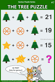 the tree puzzle 99 fail to answer this tricky math puzzle with