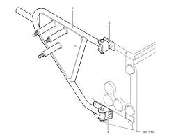 genuine land rover defender swing away spare wheel carrier by