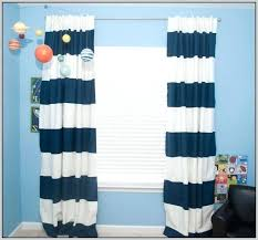 Striped Blackout Curtains Navy And White Striped Curtains Photo 9 Of Area Rugs Amusing Black