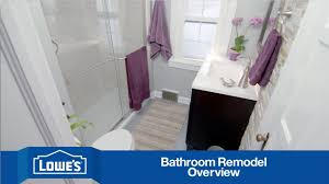 Remodeling A Small Bathroom On A Budget Budget Friendly Bathroom Remodel Series Overview Youtube