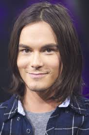 center part mens hairstly tyler blackburn long hair