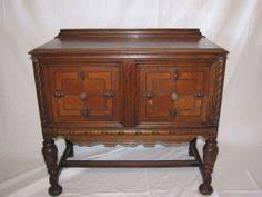buffet sideboard server cupboard cabinet carved antique