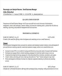 Resumes Com Samples by Business Resume Sample Free U0026 Premium Templates