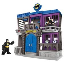 buy fisher price imaginext batman gotham jail toys