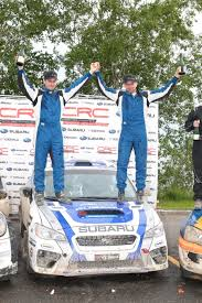 subaru rally racing subaru rally team canada conquers the competition at rallye baie