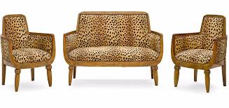 Leopard Print Chaise Jackie Collins U0027 Furniture Sells For 35 000 In Auction Daily