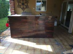 Homemade Bar Top Awesome Outdoor Bar With Concrete Bar Top Pallets Barn Wood