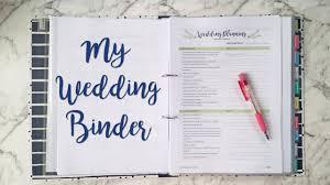 wedding binder diy wedding binder flip through sam granger