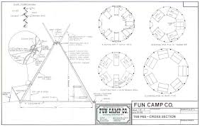 Camp Plans by Tipi