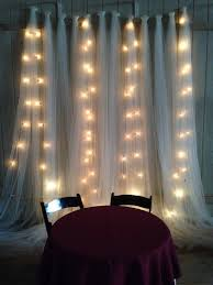 wedding backdrop with lights my country rustic wedding nutrition by shoshana