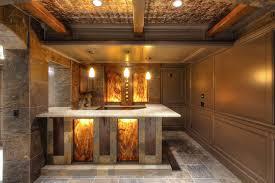 home decor basement bar lighting popular basement bar ideas e