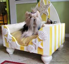 beach dog bed beach style cabana design with skimboard headboard