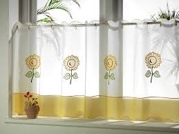 country kitchen curtains with beautiful motifs home design