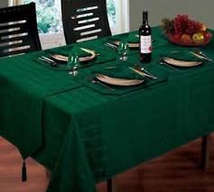 forest green table linens forest green jacquard 52 x 70 tablecloth napkins runner mats table