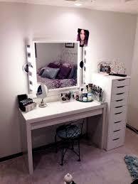 ikea makeup vanity ikea vanity makeup table with lights and drawers nytexas