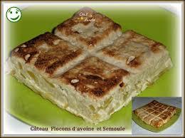 cuisiner flocon d avoine gâteau flocons d avoine et semoule et 2 variantes chez vanda
