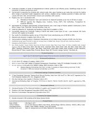 Supply Chain Management Executive Resume Resume Of Logistics U0026 Supply Chain Professional With 14 Years Of Enri U2026