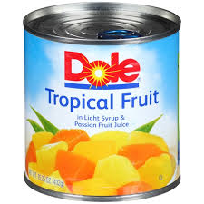 tropical fruit delivery kroger dole canned fruit in light syrup fruit juice