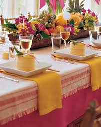 Dining Room Table Setting Ideas Summer Centerpieces For Entertaining Martha Stewart