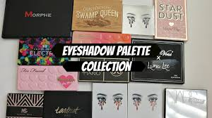 eyeshadow palette collection 2017 youtube