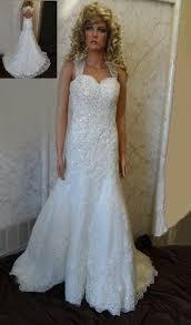 beading wedding dresses lace wedding dress with open back and beaded wedding sash